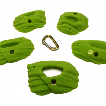 Klettergriffe Plated Sandstone Pockets (Large) - Element Climbing